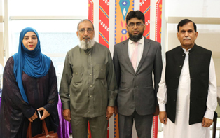 7th Aug, 2017: IBA CEIF Team Meets with Riphah University Delegation