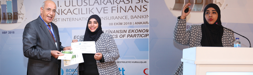 Dr. Irum Saba (Assistant Professor and Program Director MS Islamic Banking and Finance, IBA)  participated in the 1st International Insurance, Banking and Finance symposium