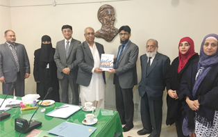 24th Jan, 2017: IBA CEIF Team meets with Director General, Sindh Judicial Academy