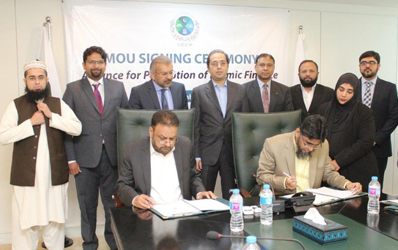 ISLAMABAD, November 23: The SECP signed an MoU with three centers of excellence in Islamic finance (CEIFs)