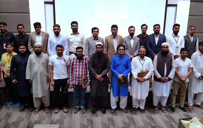 Aug 26, 2019: A certificate distribution ceremony was held at IBA CEIF for successful candidates of the first batch of CIPA (Refresher) Course.