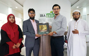 16th Aug, 2017: IBA CEIF Teams meets with German Delegate