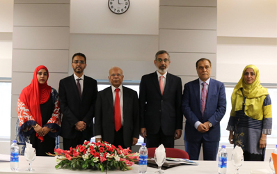 19 Sep, 2019: Induction of New Board Members and Observers on IBA CEIF Board.