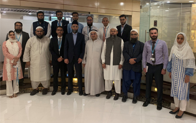 IBA CEIF held a training session on Fintech by Dr Ziyaad Mahomed for Standard Chartered Bank (Pakistan) Limited's Shariah Board and ExCo