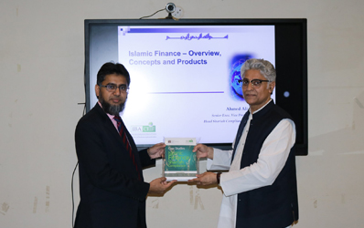 25 October, 2019: Ahmed Ali Siddiqui, Director CEIF, delivered a lecture on the