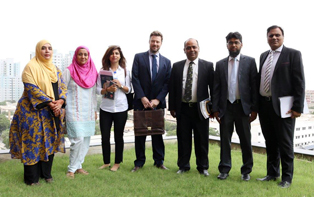 17 Aug, 2017: IBA CEIF Team meets with DFID Delegation