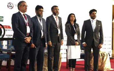 Mr. Ahmed Ali Siddiqui, Director IBA CEIF and Dr. Irum Saba, Program Director and Assistant Professor, IBA were invited to participate in the Islamic Finance News Forum 2019