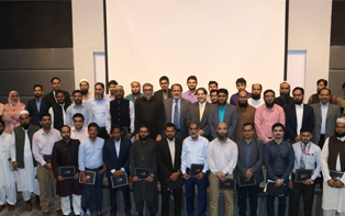 The successful candidates of batch 2 of Advanced Certificate of AAOIFI Shariah Standards