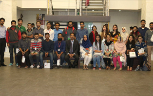 Career Counselling Session with Pak Qatar for IOBM Students of Accounting and Finance'