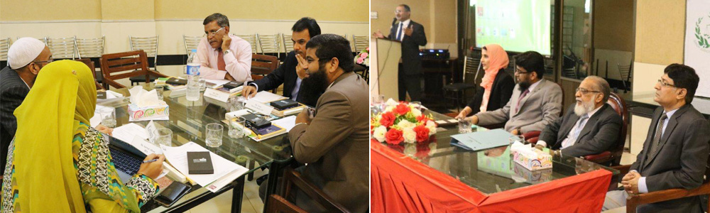 10th Nov, 2016: IBA CEIF Conducts Focus Group in collaboration with Sindh Judicial Academy